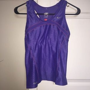 Nike Fit Dry Workout Tank with Built In Bra